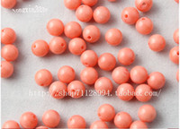 Wholesale 4mm mm mm mm Japan Sea Pink Coral Gemstone Round Loose Bead inch
