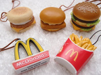 Wholesale mcDonalds Happy Meal Chips Birthday Favours Kids Toys Burger Action Figures x25