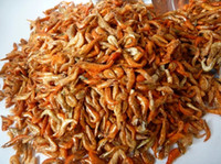 Wholesale DRIED SHRIMP FOOD G FOR dragon fish Partial predatory fish NEW FISH AQUARIUM
