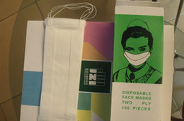 Wholesale paper mask Disposable medical mask dustproof paper mask Single paper mask ID LG30