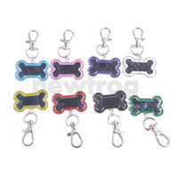 Wholesale New Hot Bone Shape Pet ID Tag Custom Stainless Steel Dog Cat Personalized Pendant