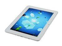 Wholesale Ampe A90 Deluxe Tablet PC Inch IPS Screen Android A10 GHz GB GB Bluetooth White Color