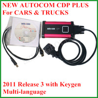 Wholesale 2012 Version Autocom CDP PLUS Auto Com CDP Pro for Cars Trucks and Generic Multi langauge OBD03