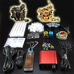 Wholesale Beginner Gun Black and Gold Gun Kit Professional Machine Power Supply Foot Pedal