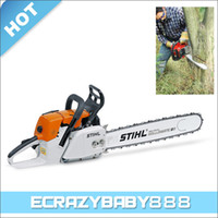 Wholesale 1 Cylinder Stroke Air cooling Stihl MS381 Gasoline Chain Saw Chainsaw CC KW quot Guide Bar