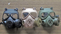 Wholesale ONE Piece Brand New NATO M9 style Military Gas Mask And One SEALED Filters Canisters