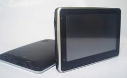 Wholesale 4 Inch GPS Navigator MTK MHz Free Maps FM MP3 MP4 Player dhl