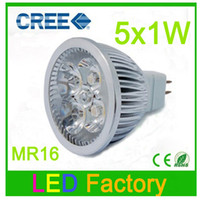 Wholesale Eyes protection High strength glass Lm V W MR16 LED Bulbs Light Warm cool white