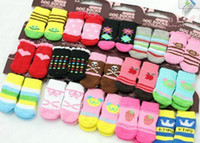 Wholesale Pet Christmas socks stockings DOG Dog Cat Puppy Socks Booties Shoes Size S M L MIX Order