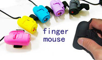 Wholesale New Mini D USB Optical Finger Mouse for Laptop and Desktop computers Optical Finger Mous