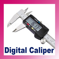Wholesale New quot mm Electronic Digital Caliper Vernier Gauge Micrometer Stainless Steel