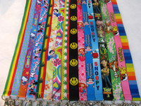 Lanyard   100Pcs New Design Mixed Multi style Mobile Phone Lanyard Key Card ID Chain Neck Straps Gift