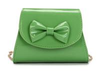 Jade Fox Handbag Lady Shoulder PU Leather Korean Version Bow...