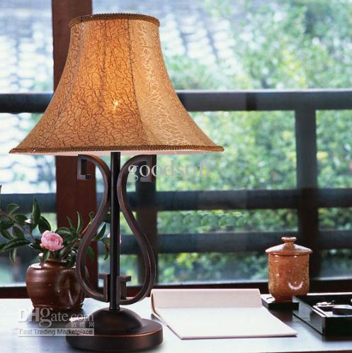 2017 Elegant Palace Table Lamp Living Room Bedroom Bed Lamps From