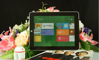 Wholesale NEW inch Intel Atom N2600 dual core Win8 amp Android capacitive G G GB SSD tablet pc D H