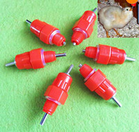 Wholesale Auto Water Nipples Drinker Poultry Chicken Duck Bird Feeder Hanging Screw
