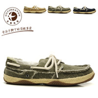 Wholesale HOT Summer GUCIHEAVEN Classica Boat shoes Mens casual shoes summer England Tidal colors