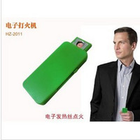 Wholesale New Arrive Hot Seelling New Novelty USB Rechargeable Electronic Cigarette Lighter