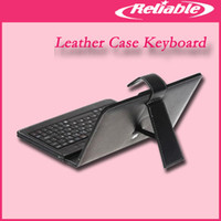 Wholesale 7 inch inch inch USB keyboard Stylus Leather keyboard case Tablet PC Epad Apad
