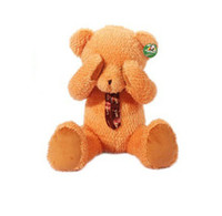 Wholesale Retail Hot Sell Brown Cute Shy Teddy Bears Dolls Stuffed Animal Plush Toys Valentine s Day inch
