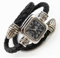 Wholesale Retro Roman woman watch Snake bracelets watch alloy pure leather accessory luxury ladies watch table