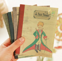 Wholesale Korea style stationery little prince Pairs design A6 paper memo pad notebook FreeShipping