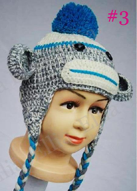 Child Crochet Monkey Hat Pattern Traitoro For