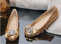 Women beadings brand new - 2012 Hot Brand new fashion women s shoes sequins with beadings girl s heels shoes