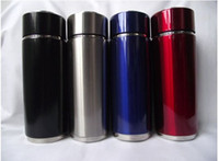 Stainless Steel alkaline health - 2pcs Tourmaline Alkaline Energy Cup Water Filter Water bottle Health flask with gift bag colors