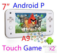 Wholesale JXD S7100 inch Android Game player xi Gaming Tablet PC Handheld Console capacitive PSP game
