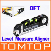 Wholesale Multipurpose Horizon Vertical Laser Level Vertical Measure Tape Aligner FT H8710