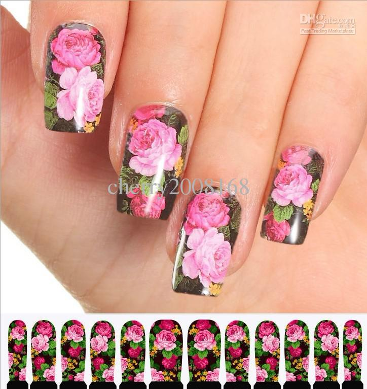 Nails design stickers beautify themselves with sweet nails 01 50pcs 3d nail stickers 3d nail seal designs nail stickers nail prinsesfo Images