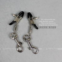 Wholesale Slave bondage nipple clamps sexy nipple cover nipple clip SM sex toys