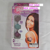 Wholesale Shimmer Body Art Wholesale - Shimmer Glitter Tattoos - Create Your Own Professional Body Art free shipping