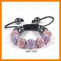 Colorful Baby Crystal Bracelets 10 pcs lot