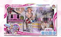 Wholesale Cute little Doll Houses Girls Toys Gift Set music singer bobby baby