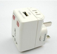 Wholesale Home and Travel adapter multi function USB power plug wall charger universal converter for iphone Samsung Huawei