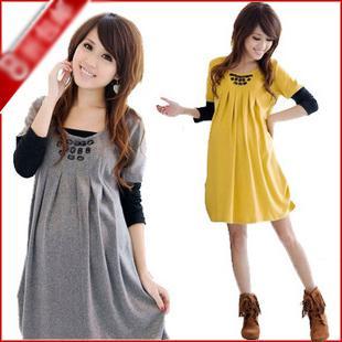 081104 Women Clothing Maternity Dress Pregnant Women Clothes Fashion