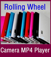 Wholesale Cheap multi lanuages Camcorder GB Touch wheel th MP4 Player MP Camera inch Screen MP3 FM