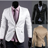 Cheap Hot! 2015 Men's Suits New Men Suit Slim Rare Two buckle Boys Small suit 2353