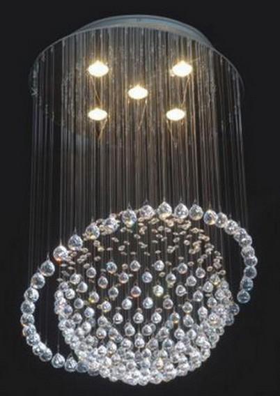 Evrosvet Modern 5 Light Saturn Crystal Chandelier 19 23 X 31 12 – Crystal Chandelier Lights