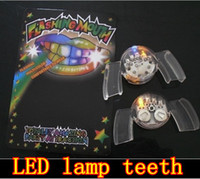 Halloween   led teeth lights LED dental lamp ,flashing teeth light, free shipping