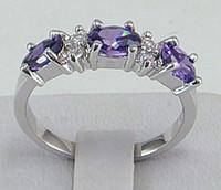 tanzanite rings - HOT New Fashion Elegant women mens lovers wedding ring ct Tanzanite gemstone ring diopside rings solid k white gold