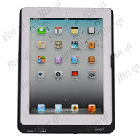 Wholesale 8000mAh External Backup Battery Pack Charger Case Rechargeable For iPad iPad free DHL