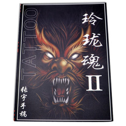 Wholesale Popular Tattoo Books Exquisite soul Flash Tattoo Manuscript A4 Size