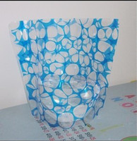 Wholesale Vogue to live in a new soft PVC vase membrane can be folded creative blue small stone flowerpot