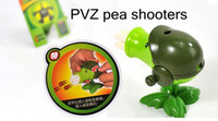 Wholesale Funny PVZ Toys Peas machine gun shooter Toys Kids Favourite Toys