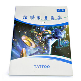 Wholesale New Tattoo Books Flash Tattoo Manuscript A4 Size tattoo eqipment