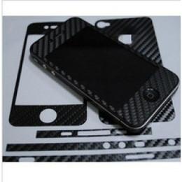 Envío libre 5pcs / lot del protector de la pantalla para el parachoques de carbono hecha a medida para el iphone 4G Producto desde envío libre del iphone de la manzana fabricantes