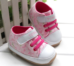 Wholesale baby rubber soled pink girls shoes First Walker Shoes baby shoes FH052 fashion_house